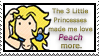 t3lp Stamp: Peach by Cherry-sama