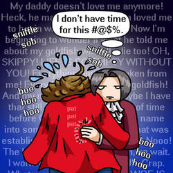 Edgeworth Doesn't Have Time for Your #@$%