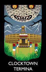 Clocktown Travel Poster