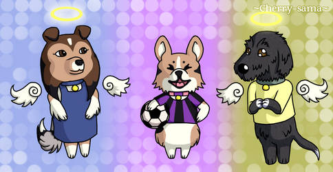 My Doggies In Animal Crossing Style