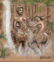 Centaurs by malinKla