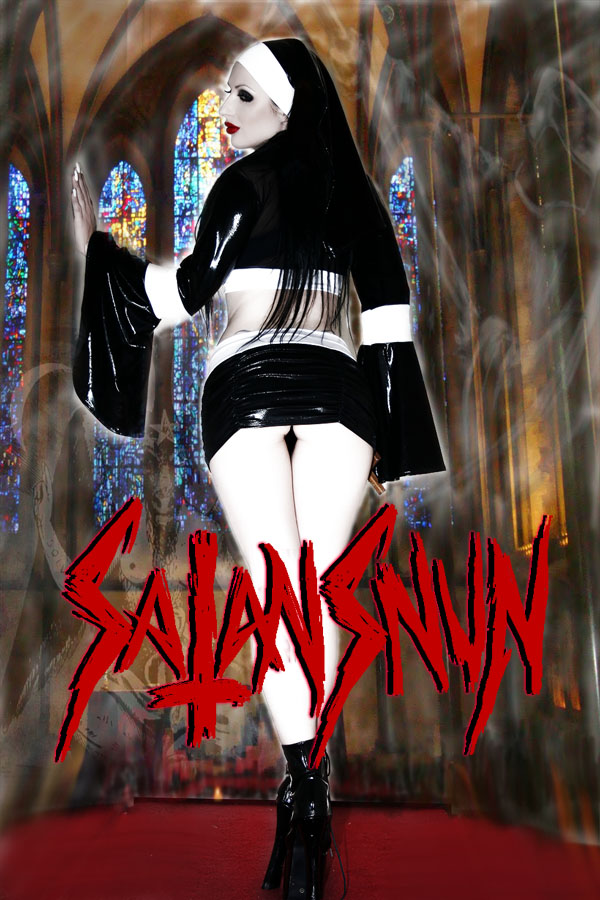 SatansNun Church Blasphemy by hellphoto