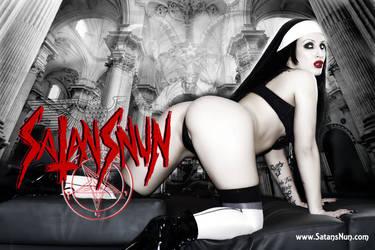 SatansNun Evil Nun Blasphemy by hellphoto