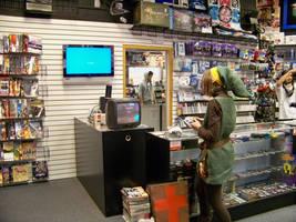Link plays Zelda by FaeOfDoom