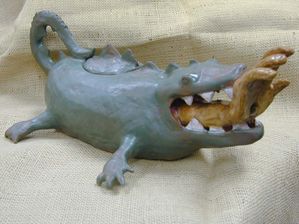 Alligator Teapot by todd587