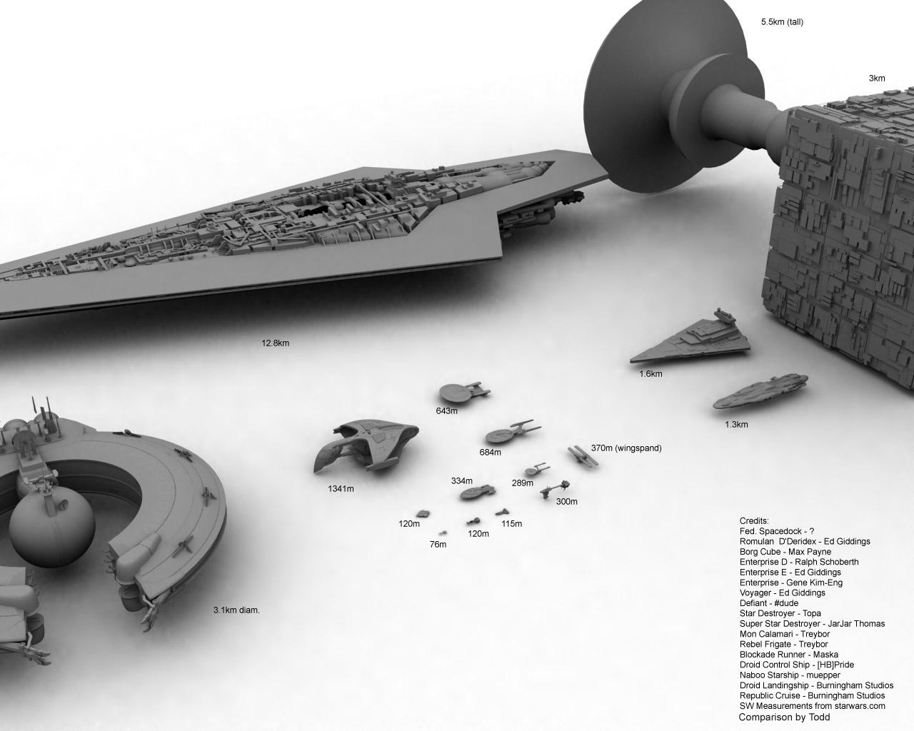 Star Trek vs Star Wars 2 by todd587