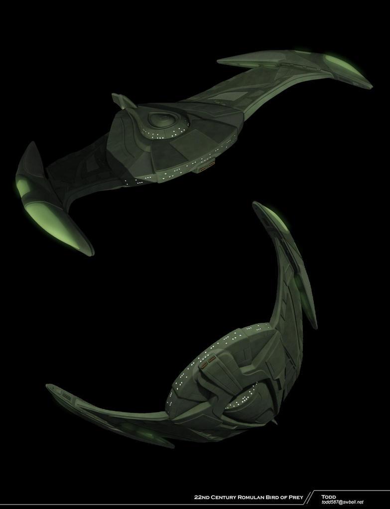 Romulan Bird of Prey by todd587