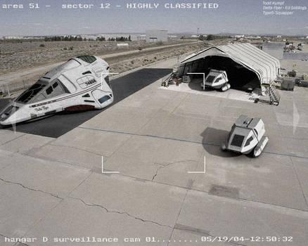 Area 51 Hangar by todd587
