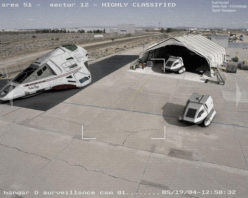 Area 51 Hangar by todd587