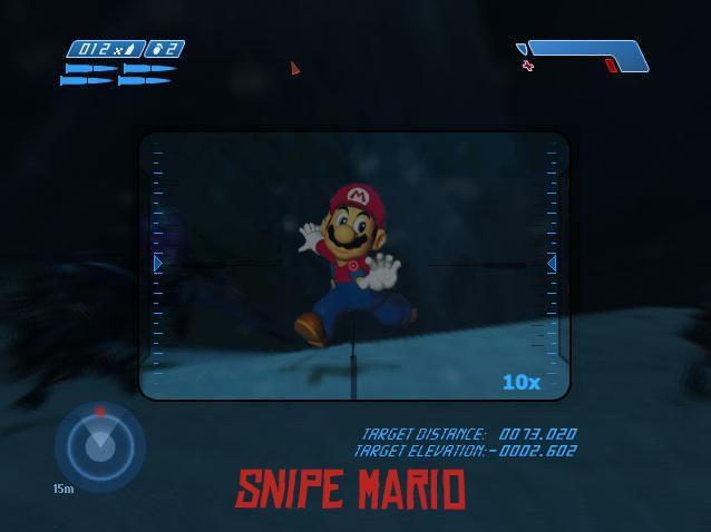 Snipe Mario by todd587