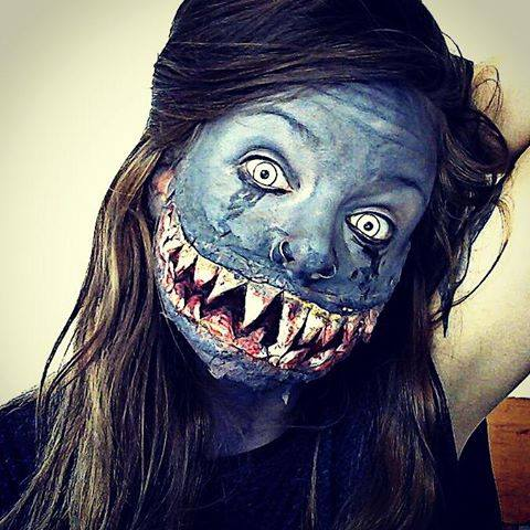 Monster SFX Make Up By Lgoresfx On DeviantArt