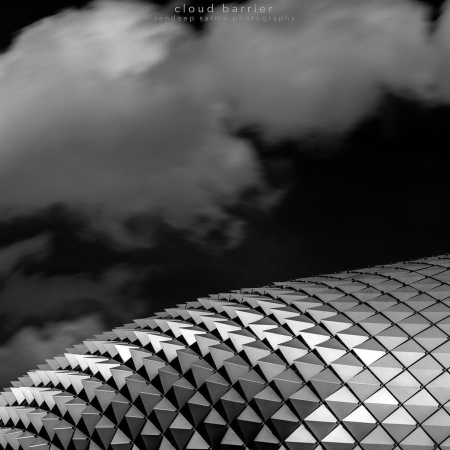 cloud barrier by sandeepsarma