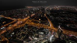 heart of the city by sandeepsarma