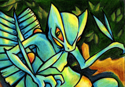Hurst the Shiny Sceptile by Power-Line