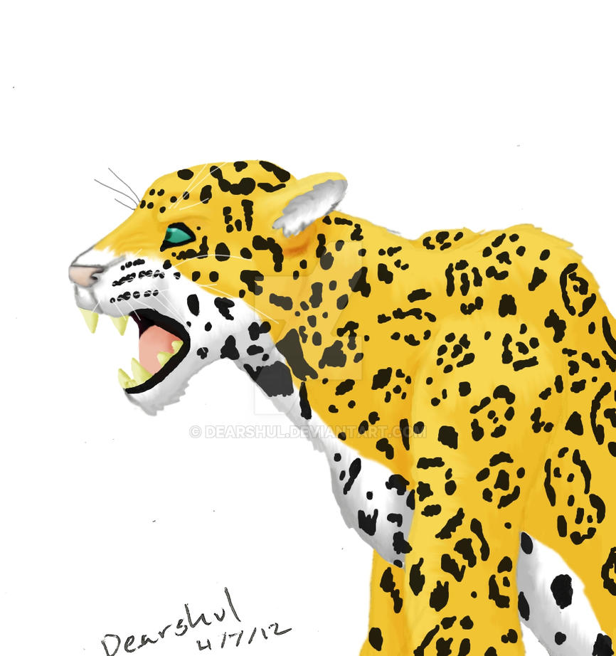 Jaguar Snarl: Jaguar Snarl By Dearshul On DeviantArt