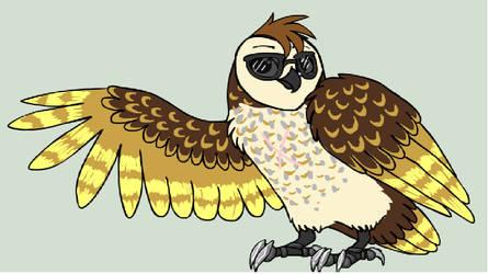 Cooper the Barn Owl by EglantineAlba