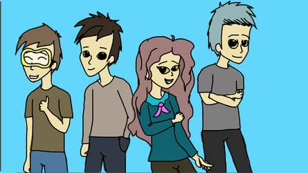 The Team by EglantineAlba