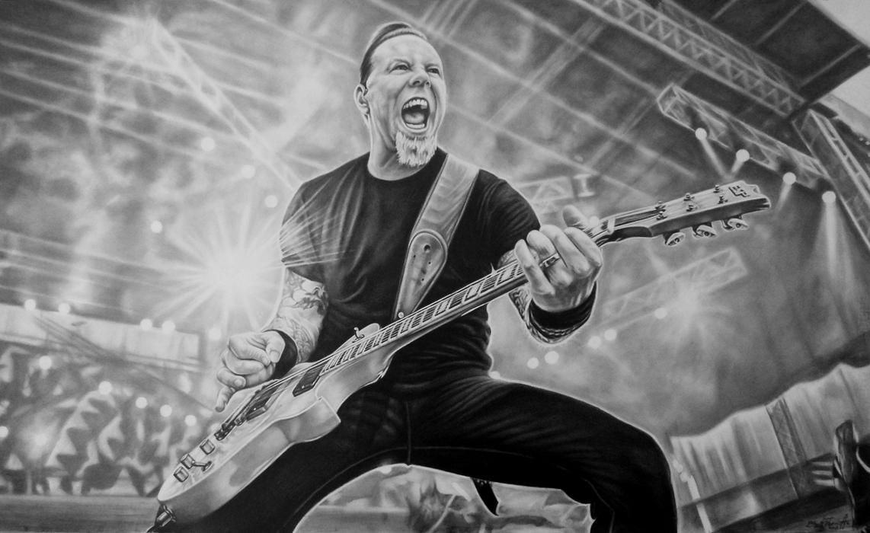 My friend of Misery (James Hetfield) by tubyx on DeviantArt