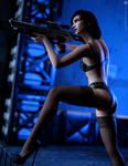 Shepard Commander by AlienAlly