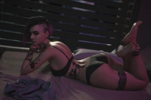 Judy Alvarez, Cyberpunk 2077
