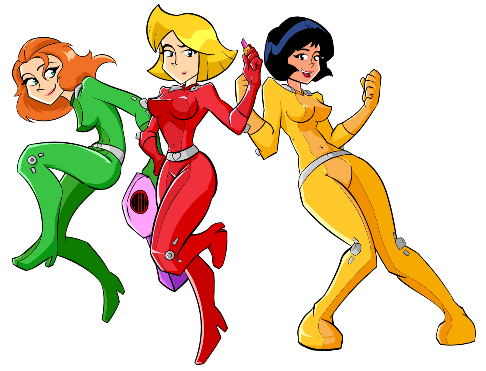 Totally Spies by HPNerd-ALS