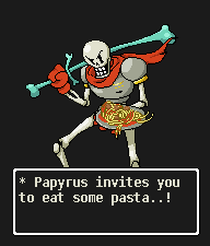 Papyrus-dailypixel by aderbaul1