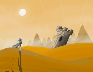 Desert Scene by Box787