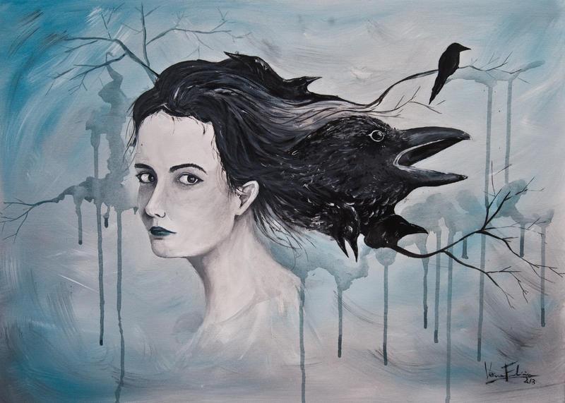 Regina di corvi by VeroFalcioniArt