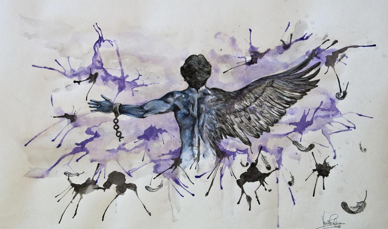Liberta che non vediamo by VeroFalcioniArt