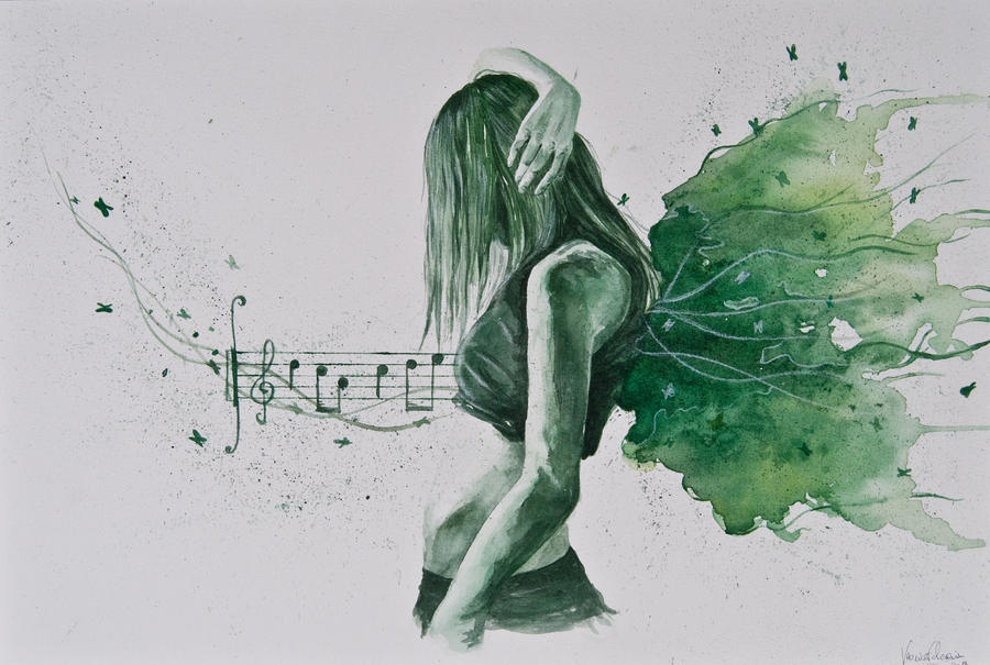The inspiring music