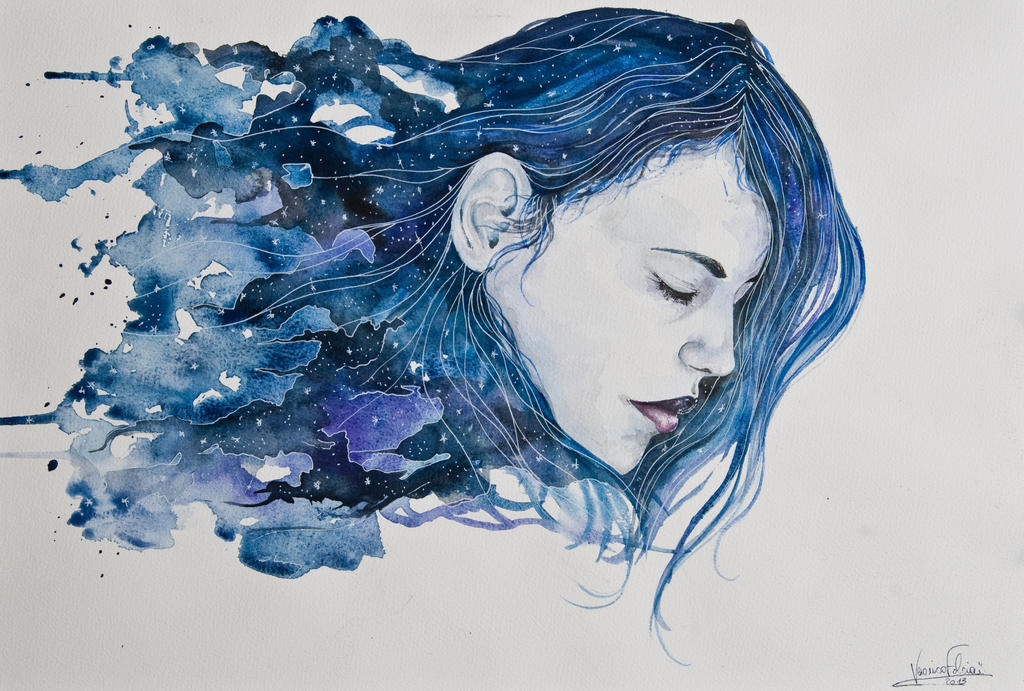 The night by VeroFalcioniArt