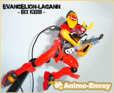 Evangelion-Lagann Rock Version by anivoy