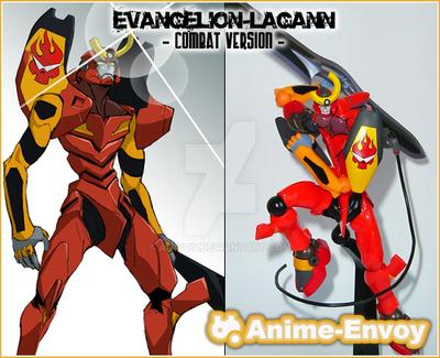 Evangelion-Lagann Combat Ver. by anivoy