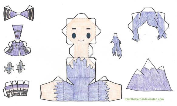 Mora Chester Papercraft