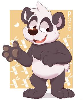 The most amazing panda, PacoPanda Fanart!