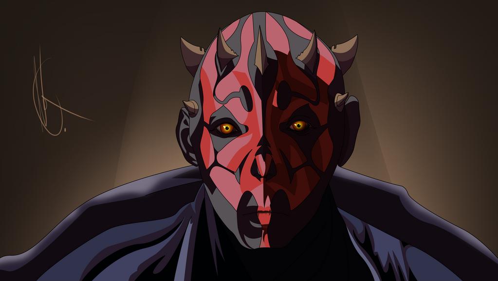 Star Wars: Darth Maul by PerfectChaoX
