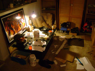 My apt.  turned into workshop by Recovery-One