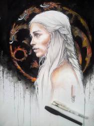 Daenerys Targaryen by MsSophieArt