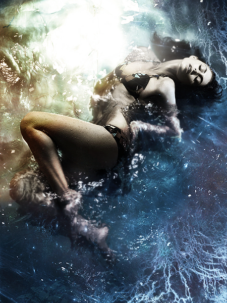 Model Floating In Water Floating in water  9 byModel Floating In Water