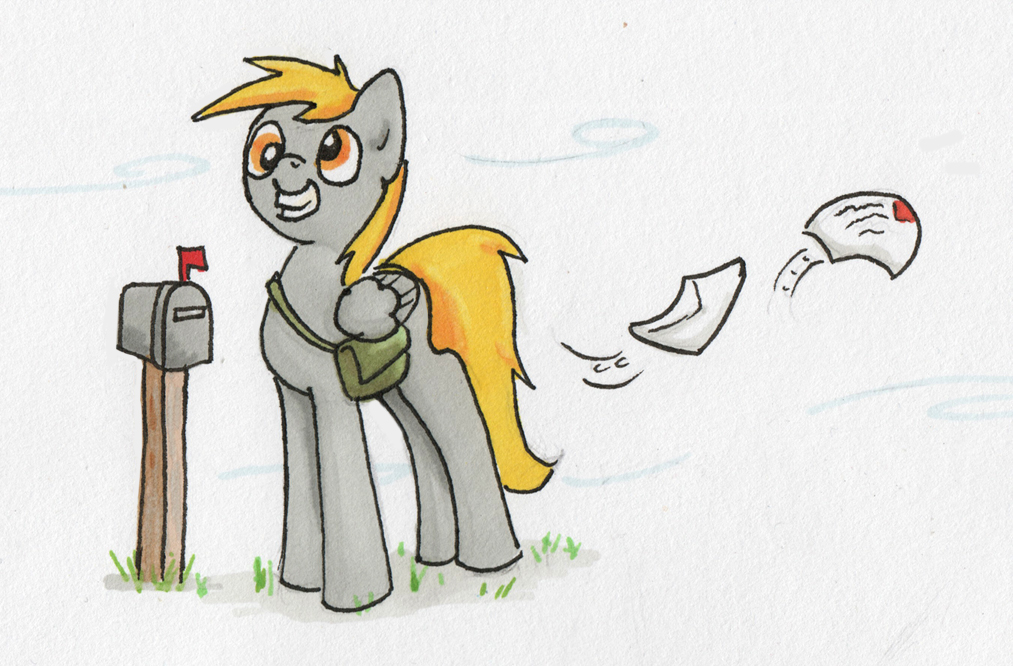 Derpy mail by Abrr2000