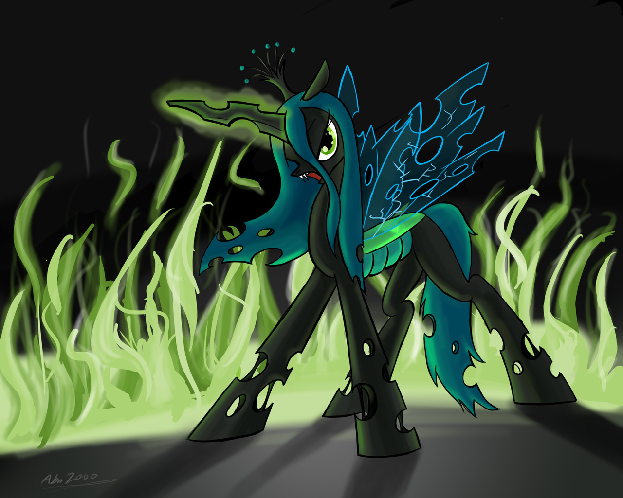 Mlp Changeling Tf: Changeling Princess By Shieltar On DeviantArt