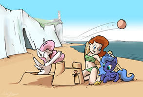 Castles In The Sand by Shieltar