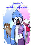 Mordecai's Wardrobe Malfunction ( P00 Cover )