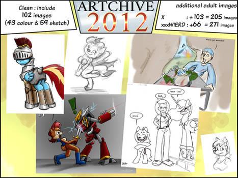 Artchive 2012