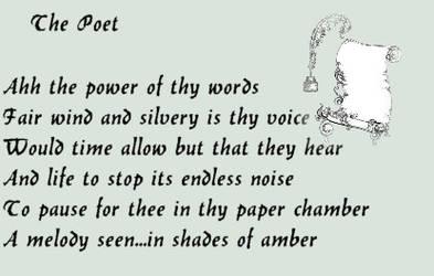 The Poet by meregoddess