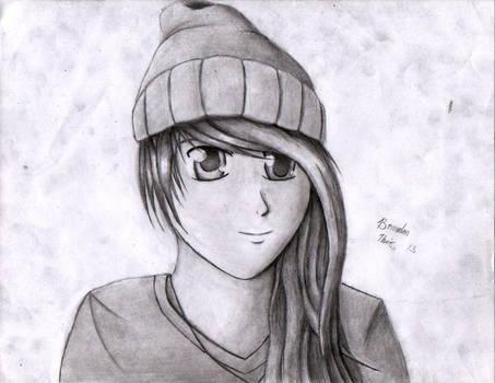 Random Anime portrait