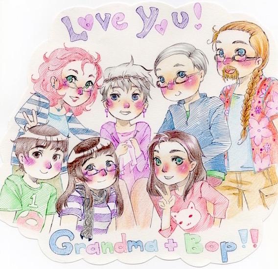 Grandpeeps by ShikamaCHU