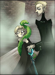 DH- Scorpius and Daddy
