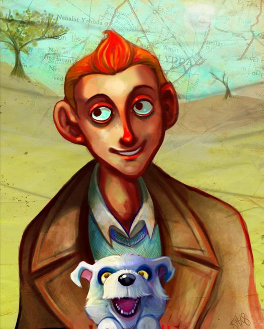 Tintin et Milou by Buuya
