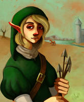 Portrait of a Young Hylian